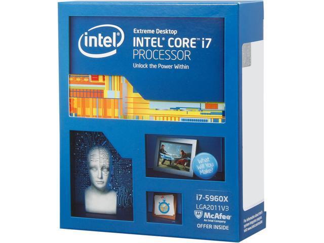 Intel Core i7-5960X Haswell-E 8-Core 3.0 GHz LGA 2011-v3 140W BX80648I75960X Desktop Processor - Newegg.com
