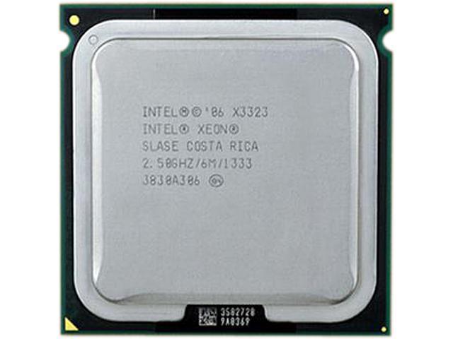 Intel Xeon X3323 Conroe 2.53 GHz LGA 771 65W Xeon X3323 Server Processor