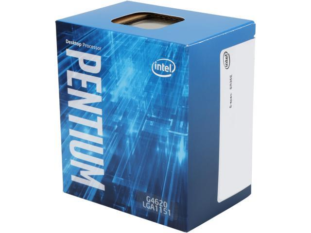 Intel G4620 Kaby Lake Dual-Core 3.7 GHz LGA 1151 51W BX80677G4620 Desktop Processor Intel HD Graphics 630