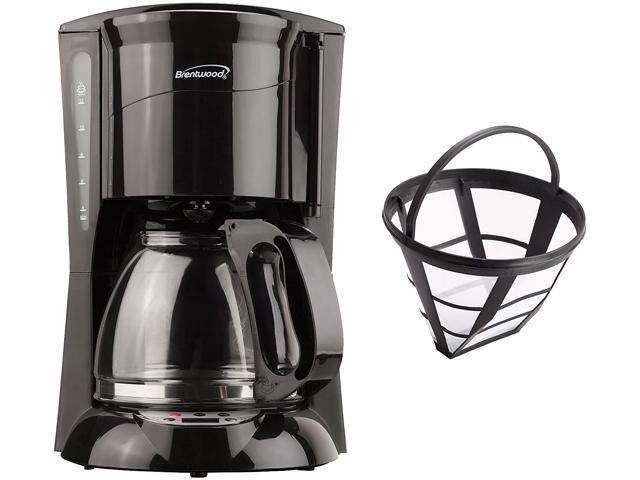 BRENTWOOD APPLIANCES COFFEE MAKER 12CUP BLACK