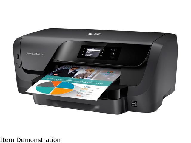 HP OfficeJet Pro 8210 (D9L64A#B1H) Duplex 2400 dpi x 1200 dpi wireless/USB color Inkjet Printer