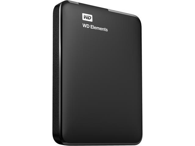 WD 1TB Elements Portable External Hard Drive USB 3.0 Model WDBUZG0010BBK-WESN Black