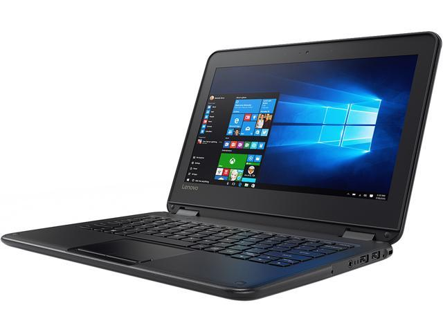 Lenovo Laptop (French Keyboard) 80UR0001CF Intel Celeron N3060 (1.60 GHz) 4 GB Memory 64 GB Flash Intel HD Graphics 400 11.6