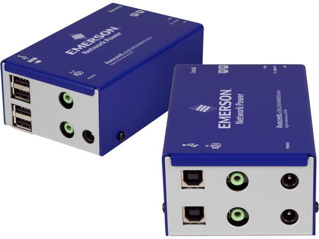 Avocent LV4020P-001 Longview Dual Dvi Usb Audio Catx 50M