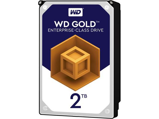WD Gold 2TB Enterprise Class Hard Disk Drive - 7200 RPM Class SATA 6Gb/s 128MB Cache 3.5 Inch - WD2005FBYZ