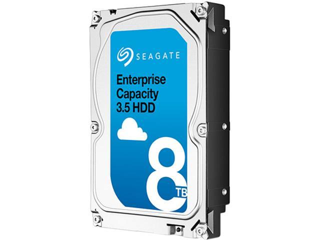 Seagate Enterprise Capacity 3.5'' HDD 8TB 7200 RPM 512e SATA 6Gb/s 256MB Cache Internal Hard Drive ST8000NM0055