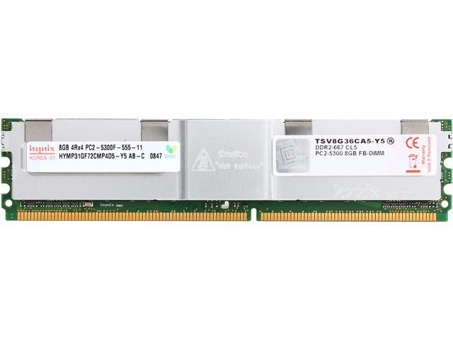 V-Color Server Series 8GB 240-Pin DDR2 SDRAM ECC Fully Buffered DDR2 667 (PC2 5400) Server Memory Model TSV8G36CA5-Y5