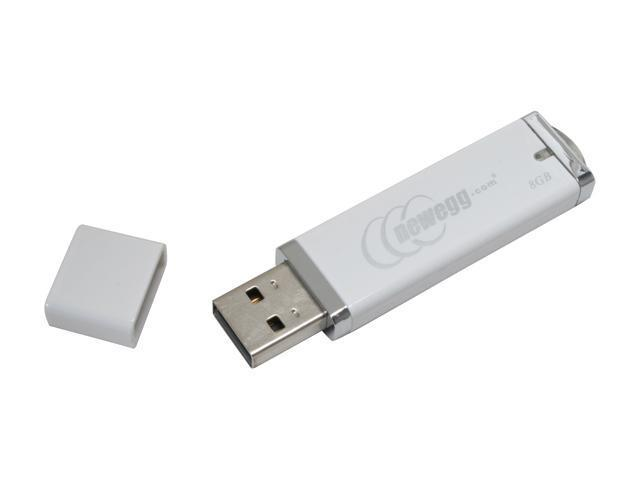 Newegg 8GB Flash Drive (USB2.0 Portable) Model L8GB-RBST