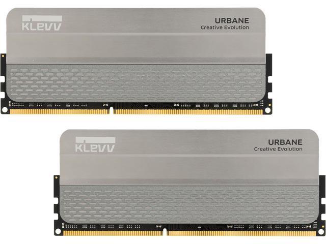 Klevv Urbane 8GB (2 x 4GB) 240-Pin DDR3 SDRAM DDR3 2933 (PC3 23400) Memory Model KM3U4GX2Y-2933-12-14-14-36-0