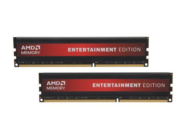 AMD Entertainment Edition 16GB (2 x 8GB) 240-Pin DDR3 SDRAM DDR3 1333 Desktop Memory Model Radeon RE1333 (AE316G1339U2K)