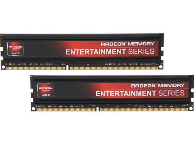 AMD Entertainment Edition 16GB (2 x 8GB) 240-Pin DDR3 SDRAM DDR3 1600 (PC3 12800) Desktop Memory Model Radeon RE1600 (AE316G1609U2K)