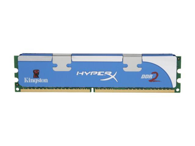 HyperX 2GB 240-Pin DDR2 SDRAM DDR2 800 (PC2 6400) Desktop Memory Model KHX6400D2LL/2G