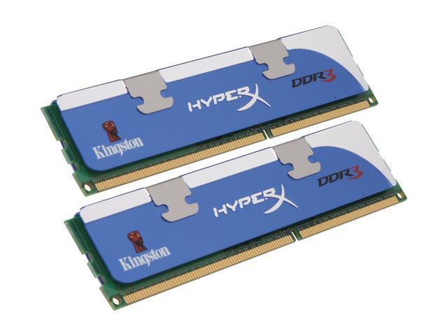 HyperX 2GB (2 x 1GB) 240-Pin DDR3 SDRAM DDR3 2000 (PC3 16000) Dual Channel Kit Desktop Memory Model KHX16000D3K2/2GN