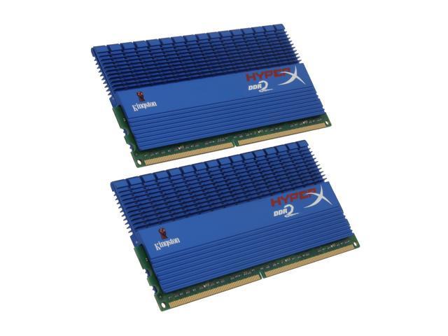 HyperX T1 Series 4GB (2 x 2GB) 240-Pin DDR2 SDRAM DDR2 1066 (PC2 8500) Dual Channel Kit Desktop Memory Model KHX8500D2T1K2/4GR