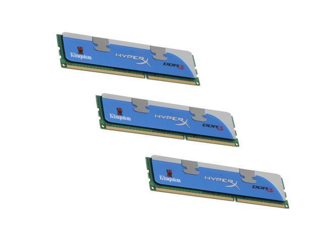 HyperX 3GB (3 x 1GB) 240-Pin DDR3 SDRAM DDR3 1600 (PC3 12800) Triple Channel Kit Desktop Memory Model KHX12800D3LLK3/3GX