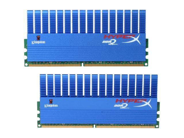 HyperX T1 Series 4GB (2 x 2GB) 240-Pin DDR2 SDRAM DDR2 1066 (PC2 8500) Dual Channel Kit Desktop Memory Model KHX8500D2T1K2/4G