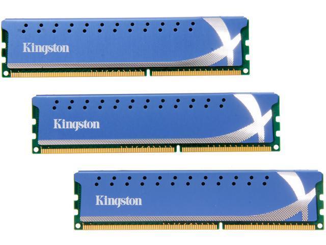 HyperX 12GB (3 x 4GB) 240-Pin DDR3 SDRAM DDR3 1600 (PC3 12800) XMP Desktop Memory Model KHX1600C9D3K3/12GX