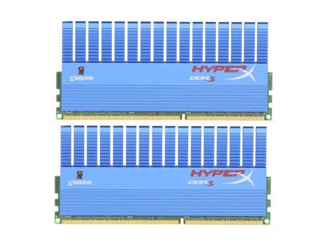 HyperX T1 Series 4GB (2 x 2GB) 240-Pin DDR3 SDRAM DDR3 2000 (PC3 16000) Desktop Memory Model KHX2000C8D3T1K2/4GX