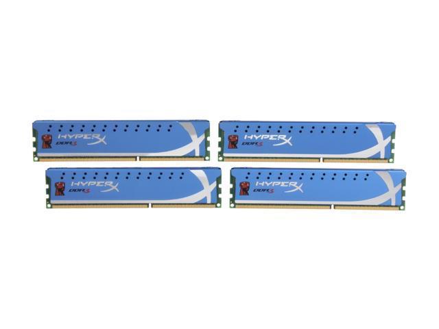 HyperX HyperX 8GB (4 x 2GB) 240-Pin DDR3 SDRAM DDR3 1333 Desktop Memory Model KHX1333C7D3K4/8GX