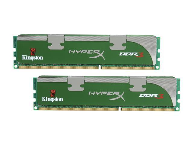 HyperX LoVo 4GB (2 x 2GB) 240-Pin DDR3 SDRAM DDR3 1333 Desktop Memory Model KHX1333C9D3UK2/4GX