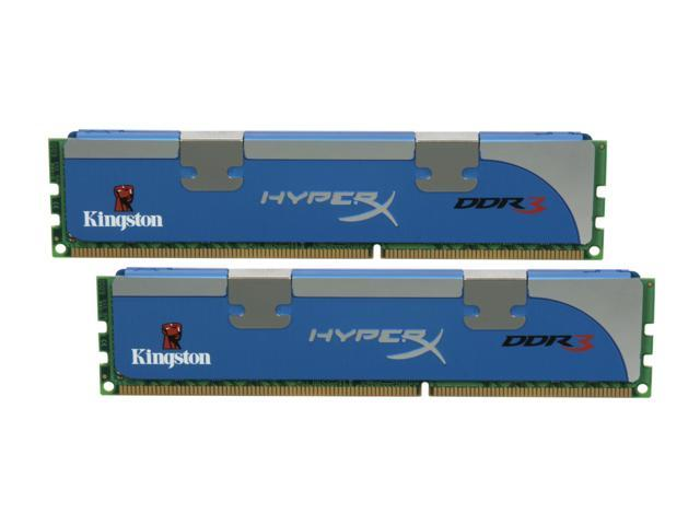 HyperX 4GB (2 x 2GB) 240-Pin DDR3 SDRAM DDR3 1600 (PC3 12800) Desktop Memory Model KHX1600C7D3K2/4GX