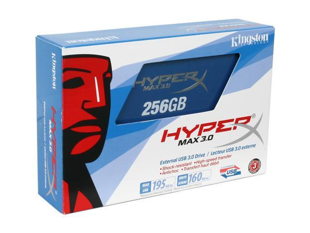 HyperX MAX 3.0 256GB External USB 3.0 Flash Drive