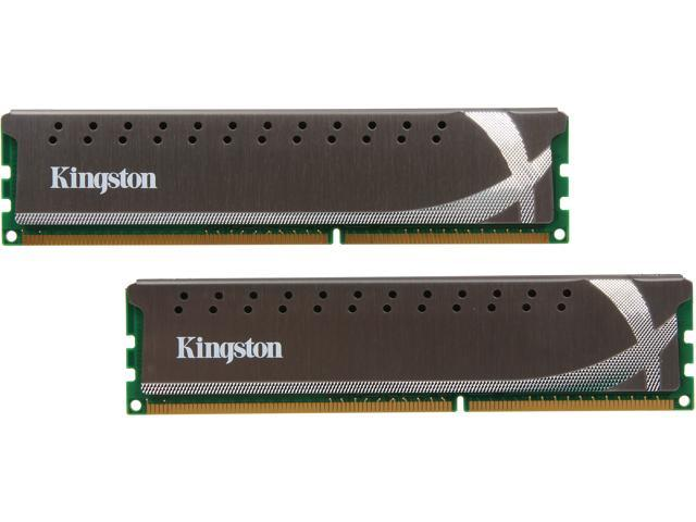 HyperX Grey Series 8GB (2 x 4GB) 240-Pin DDR3 SDRAM DDR3 1600 Desktop Memory Model KHX1600C9D3X2K2/8GX