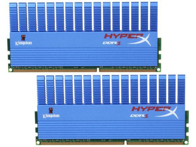 HyperX T1 Series 4GB (2 x 2GB) 240-Pin DDR3 SDRAM DDR3 1866 Desktop Memory Model KHX1866C9D3T1K2/4GX