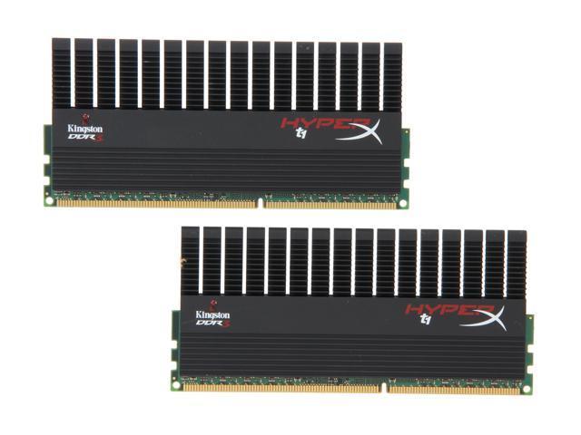 HyperX T1 Black Series 8GB (2 x 4GB) 240-Pin DDR3 SDRAM DDR3 1866 Desktop Memory Model KHX1866C9D3T1BK2/8GX