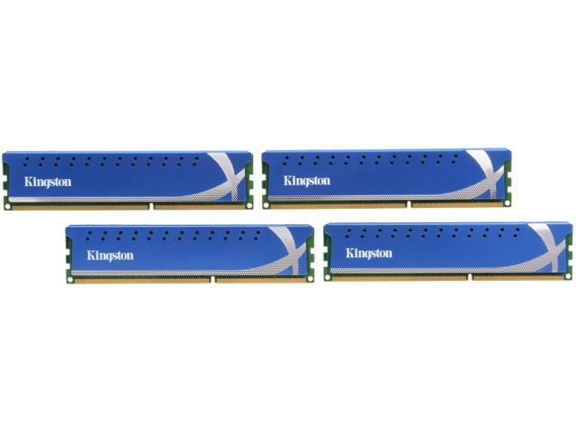 HyperX 16GB (4 x 4GB) 240-Pin DDR3 SDRAM DDR3 2400 Desktop Memory XMP Model KHX24C11K4/16X
