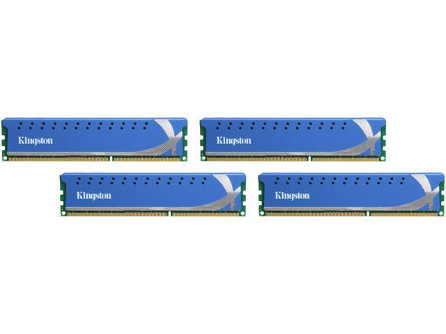 HyperX 32GB (4 x 8GB) 240-Pin DDR3 SDRAM DDR3 1600 Desktop Memory XMP Model KHX16C9K4/32X