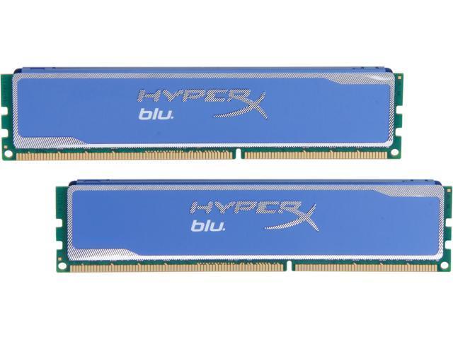 HyperX Blu 16GB (2 x 8GB) 240-Pin DDR3 SDRAM DDR3 1333 Desktop Memory Model KHX13C9B1K2/16