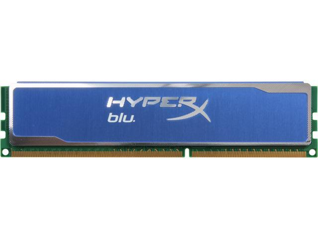 HyperX 4GB 240-Pin DDR3 SDRAM DDR3 1333 Desktop Memory HyperX Blu Model KHX13C9B1/4R