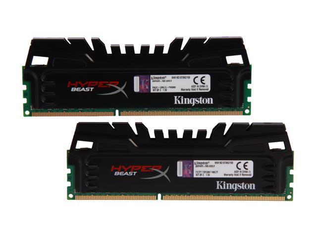 HyperX Beast 16GB (2 x 8GB) 240-Pin DDR3 SDRAM DDR3 1866 Desktop Memory Model KHX18C10T3K2/16X