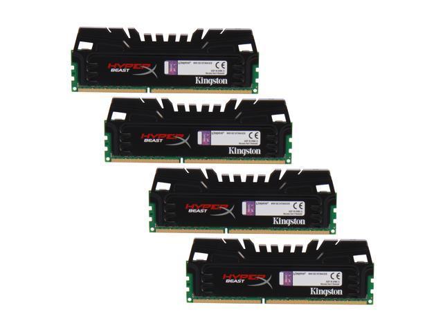 HyperX Beast 32GB (4 x 8GB) 240-Pin DDR3 SDRAM DDR3 1866 Desktop Memory Model KHX18C10T3K4/32X