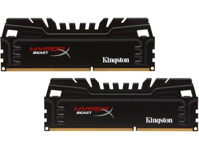 HyperX Beast 8GB (2 x 4GB) 240-Pin DDR3 SDRAM DDR3 2133 Desktop Memory Model KHX21C11T3K2/8X