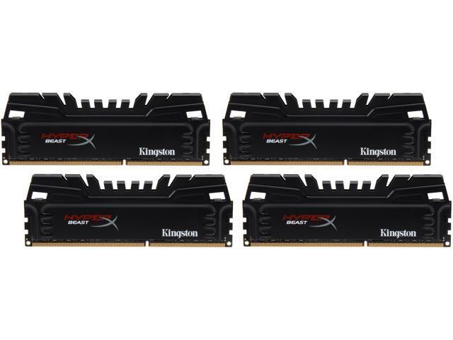 HyperX Beast 32GB (4 x 8GB) 240-Pin DDR3 SDRAM DDR3 2133 Desktop Memory Model KHX21C11T3K4/32X