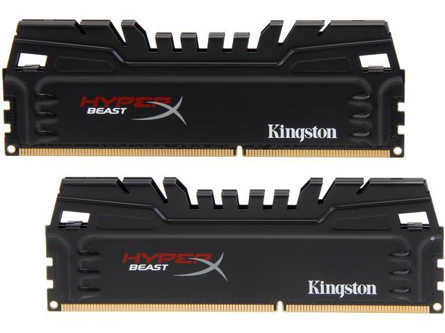 HyperX Beast 8GB (2 x 4GB) 240-Pin DDR3 SDRAM DDR3 2400 (PC3 19200) Desktop Memory Model KHX24C11T3K2/8X