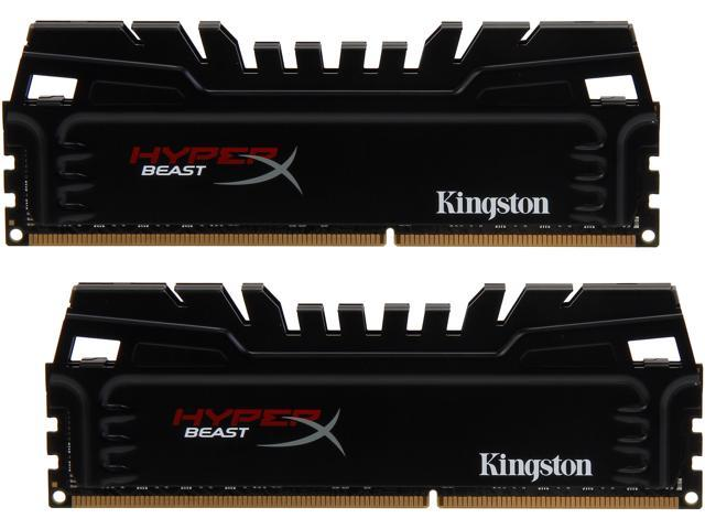 HyperX Beast 16GB (2 x 8GB) 240-Pin DDR3 SDRAM DDR3 2400 (PC3 19200) Desktop Memory Model KHX24C11T3K2/16X