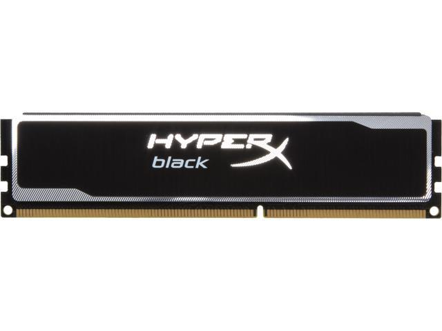 HyperX Black Series 4GB 240-Pin DDR3 SDRAM DDR3 1600 (PC3 12800) Desktop Memory Model KHX16C9B1B/4