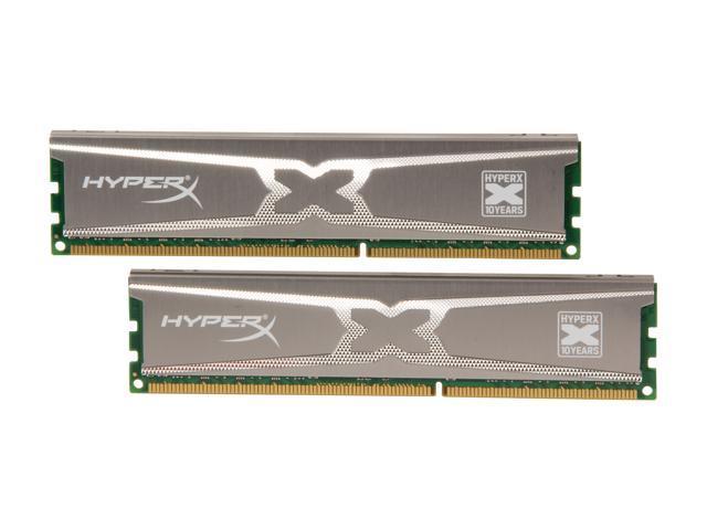 HyperX XMP 10th Anniversary Series 8GB (2 x 4GB) 240-Pin DDR3 SDRAM DDR3 1600 (PC3 12800) Desktop Memory Model KHX16C9X3K2/8X