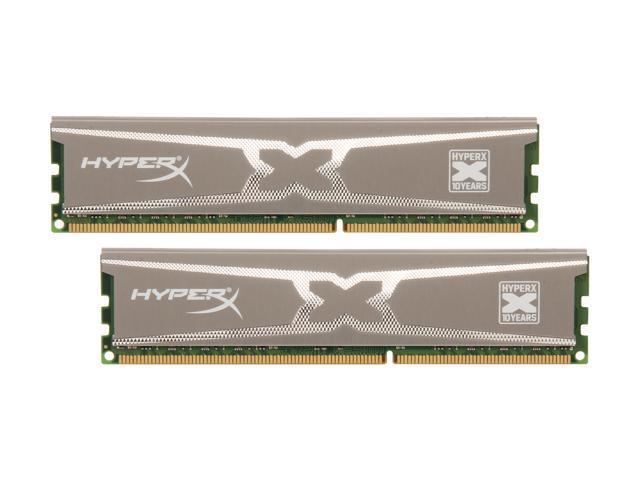 HyperX XMP 10th Anniversary Series 16GB (2 x 8GB) 240-Pin DDR3 SDRAM DDR3 1600 (PC3 12800) Desktop Memory Model KHX16C9X3K2/16X
