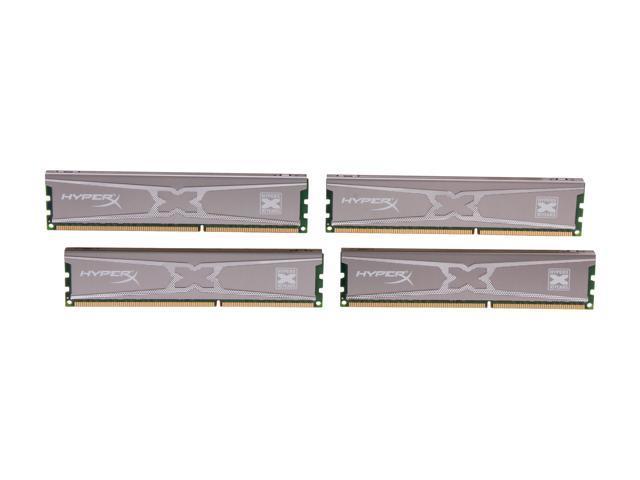 HyperX XMP 10th Anniversary Series 32GB (4 x 8GB) 240-Pin DDR3 SDRAM DDR3 1600 (PC3 12800) Desktop Memory Model KHX16C9X3K4/32X