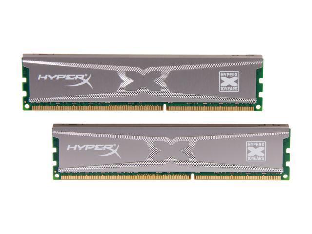 HyperX LV XMP 10th Anniversary Series 16GB (2 x 8GB) 240-Pin DDR3 SDRAM DDR3 1600 (PC3 12800) Desktop Memory Model KHX16LC10X3K2/16X