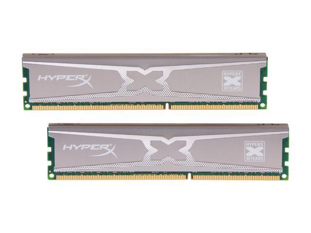 HyperX XMP 10th Anniversary Series 8GB (2 x 4GB) 240-Pin DDR3 SDRAM DDR3 1866 Desktop Memory Model KHX18C9X3K2/8X