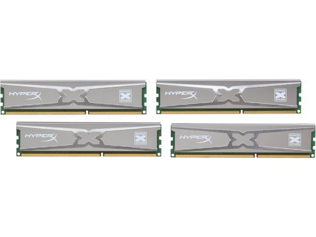 HyperX XMP 10th Anniversary Series 16GB (4 x 4GB) 240-Pin DDR3 SDRAM DDR3 1600 (PC3 12800) Desktop Memory Model KHX16LC9X3K4/16X