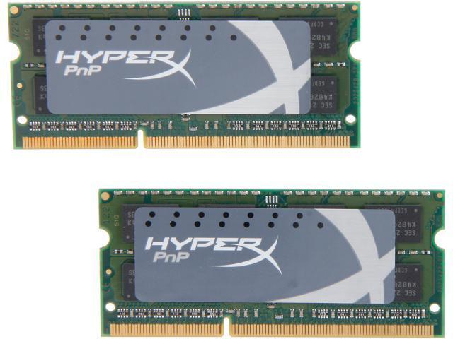 HyperX 8GB (2 x 4GB) 204-Pin DDR3 SO-DIMM DDR3L 1866 Laptop Memory Model KHX18LS11P1K2/8