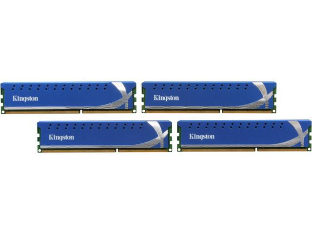 HyperX 16GB (4 x 4GB) 240-Pin DDR3 SDRAM DDR3 1866 Desktop Memory Model KHX18C10K4/16