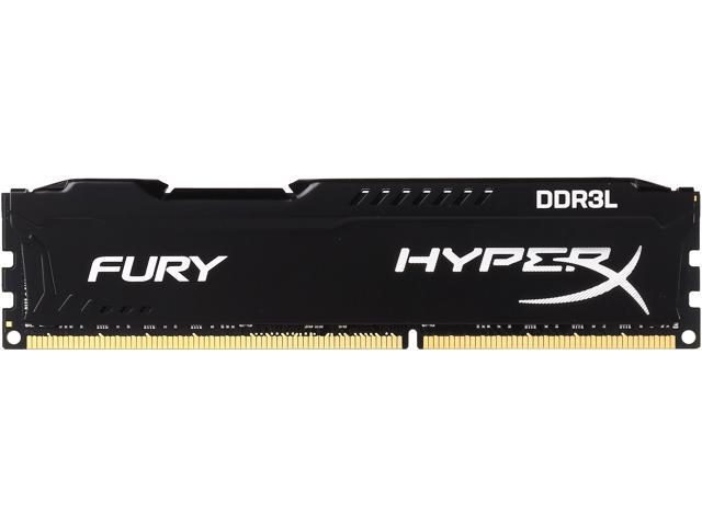 HyperX FURY 8GB 240-Pin DDR3 SDRAM DDR3L 1866 (PC3L 14900) Desktop Memory Model HX318LC11FB/8