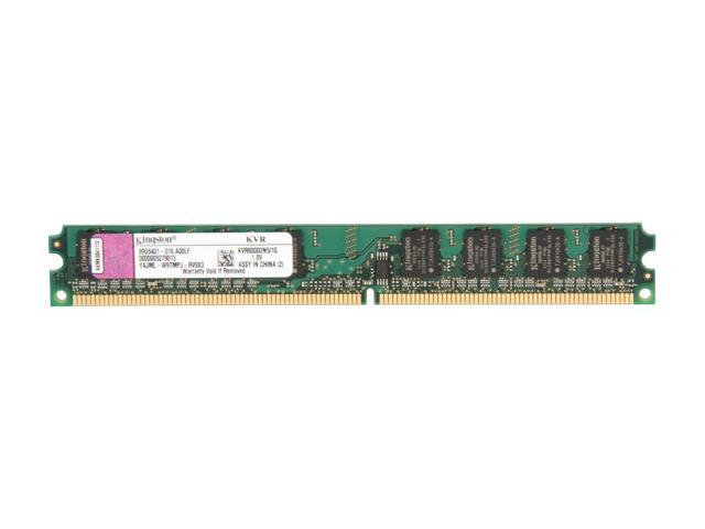 Kingston ValueRAM 1GB 240-Pin DDR2 SDRAM DDR2 800 (PC2 6400) Desktop Memory Model KVR800D2N5/1G